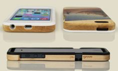Grove WoodPrint Case for iPhone 5 & 5s Daily Tech Find | Apartment Therapy
