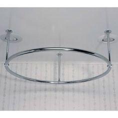 arc shower curtain rod | new addition bathroom | pinterest