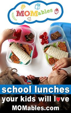 I love her ideas and recipes! They plan, you pack, kids enjoy. Weekly school lunch menus by subscription. School Lunch Menu, Kids Lunch For School, Eat Lunch, Lunch Snacks, School Lunches, Box Lunches, Lunch Time, School Days, Easy Lunch Boxes