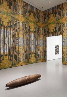 Cigar, 1991, by Robert Gober © (American, b.1954). Wood, paint, paper, tobacco; 15 3/4 x 15 3/4 x 70 7/8″ (40 x 40 x 180 cm) | Museum of Contemporary Art, LA