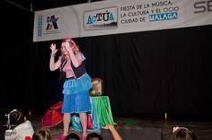 Teatro Infantil para los más pequeños en el Paseo del Parque.
