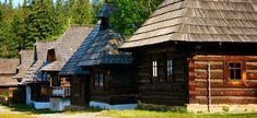 Múzeum oravskej dediny Interior And Exterior, Cabin, Country, House Styles, Folk Style, Travel Tips, Arm, Home Decor, Decoration Home
