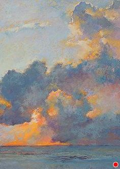 And the Sun Rises by Lyn Asselta Pastel ~ x