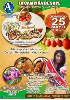 I Festival de la Ciruela y II Festival Gastronómico en Supe - Barranca