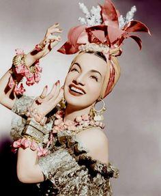 The Brazilian Bombshell, Miss Carmen Miranda 1905-1955