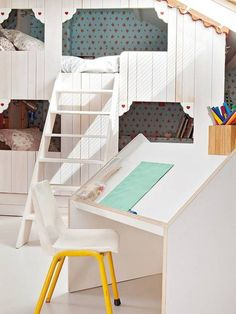 girl room design and decorating ideas, children furniture