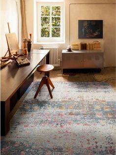 Flachgewebe Teppich Frencie Blau  #benuta #teppich #rugs #interiordesign