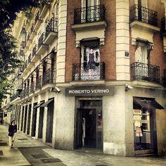 Calle Serrano / Madrid ---> Madrid, Spain, Street, Spanish