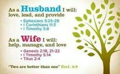 As husband and wife.