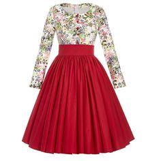 Retro Vintage Piknik Kleid