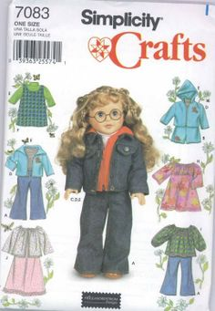 Free Copy of Pattern - Simplicity 7083