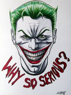 The Joker - Fan Art with Copic Markers by LethalChris on DeviantArt
