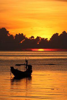 Sunset in Koh Tao
