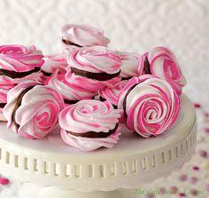 Γλυκές Τρέλες: ΜΠΕΖΕΔΕΖ Η ΓΑΛΙΚΕΣ ΜΑΡΕΓΚΕΣ ΤΡΙΑΝΤΑΦΥΛΛΟ!!!!