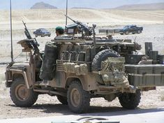 "Land Rover Perentie 4x4 ""SRV-SF"". Australian Army SF in country 2007-2010."