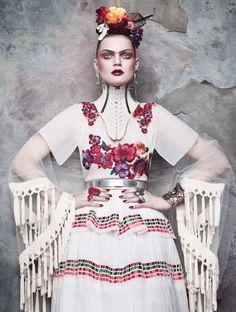 ❀ Flower Maiden Fantasy ❀ beautiful art fashion photography of women and flowers - spottedhyenas