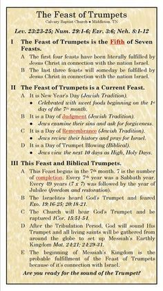 The Feast of Trumpets, Yeshua is coming Bible Study Notebook, Bible Study Tools, Scripture Study, Bible Notes, Bible Scriptures, Beautiful Words, Life Quotes Love, Bible Teachings, Bible Knowledge