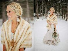 Resultado de imagen de fotos de boda en la nieve