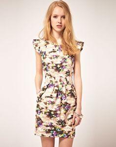 Darling Floral Dress