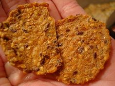Seeds Only Crackers – Vegan and Gluten Free 1/3 C Chia Seeds 1/3 C Flax Seeds 1/3 C Sunflower Seeds 1/4 C Agave (or Honey, Maple Syrup, or combo) 1/4 Tsp Allspice (or use cinnamon only or pumpkin pie spice) 1+ Tsp Vanilla Extract 2-4 Tbsp Water if needed
