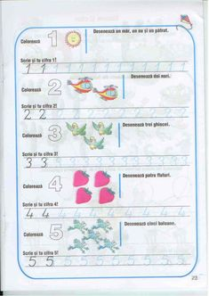 Carte Educativa Pentru Prescolari Activitati Matematice 5 7 Ani Spring Crafts For Kids, Paper Trail, Math For Kids, Homeschool, Knowledge, Activities, Homeschooling, Facts