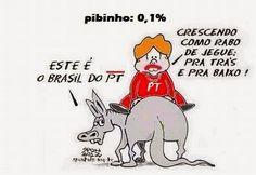 Sponholz: PT faz Brasil crescer como rabo de jegue.