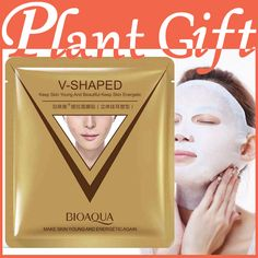 10pcs*40g sheet mask face care facial chin V shape lifting collagen face masks cosmetic firming whitening beauty mask face