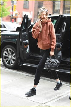 cool 100+ Best View Bella Hadid Style Outfits Casual 2017