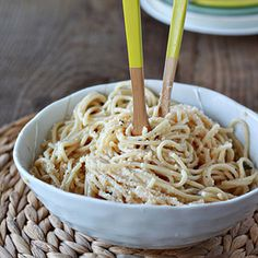 Have you heard of Cacio e Pepe? Other than not really knowing how to pronounce it, it's also a dish that, strangely, until now, I've never been able to prepare successfully. I say that's strange because it's the simplest of simple pasta dishes, supposedly. Spaghetti noodles tossed with Pecorino Roma…