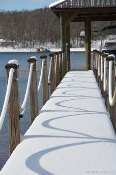 winter.quenalbertini: First Snow 2017, Lake Norman, NC | HIWTBI
