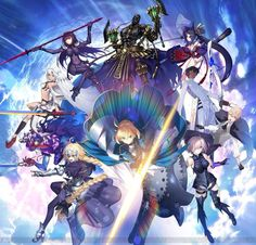 Fate grander order is now avaliable in japan App Store