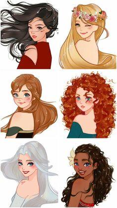 Disney Princess Babies, Disney Princess Fashion, Disney Princesses And Princes, Disney Princess Quotes, Disney Princess Drawings, Disney Princess Pictures, Princess Cartoon, Anime Princess, Disney Drawings