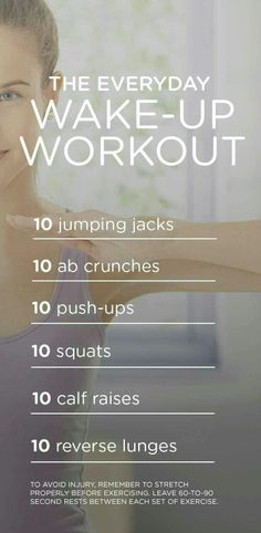 Everyday Morning Workout | Posted By: NewHowToLoseBellyFat.com