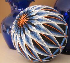 japanese embroidery - temari balls
