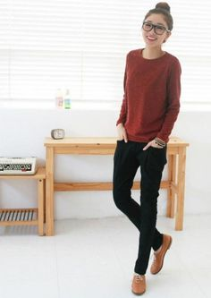 Korean Style Low Elastic Waist Women's Harem Pant on BuyTrends.com, only price $9.82