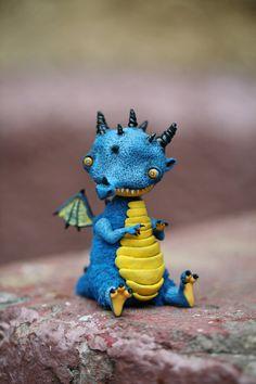 Blue dragon-elf by da-bu-di-bu-da on deviantART