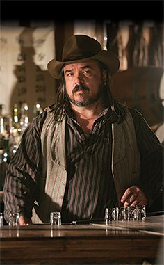 TV inspiration (the men of HBO's Deadwood): Dan Dority ...