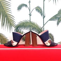 #dresscolorfully a high-heeled mixed-media sandal, the imma is a stylish match for your more clean-lined ensembles.