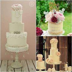 Wedding cakes options