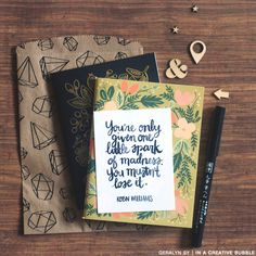 In a Creative Bubble: Freebie // Spark of Madness