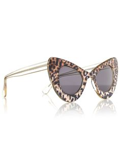 15285ff996eb Safari Zac Posen III Cat-eye Sunglasses Illesteva Types Of Glasses