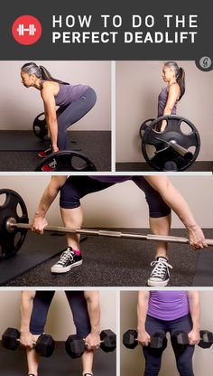 Tips on how to do deadlifts (working out your gluts and hamstrings)