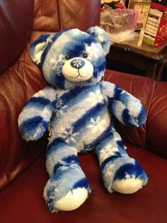 Build A Bear Winter Bear Limited Edition- I want him! Look how beautiful he is! I'd name him Himesh which means snow king!:) ❤️