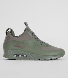 4488eb0bfa1 Nike Air Max 90 Sneakerboot Patch - Steel Green