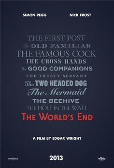 The World's End - Edgar Wright
