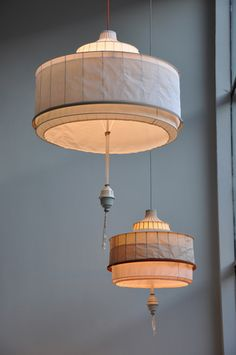 Tent Lamp by Lotty Lindeman & Wouter Scheublin - The Design Vote Interior Lighting, Home Lighting, Lighting Design, Pendant Lighting, Jar Chandelier, Pendant Lamps, Light Pendant, Modern Lighting, Lighting Ideas