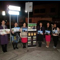 NightStand  witnessing of our Filipina sisters in kowloon tong  Hong Kong