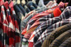 Men's flannels at Sundance Beach