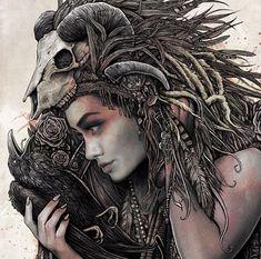Amazing Surreal Drawings by Artist Christop Lovell Photo Portrait, Portrait Art, Christopher Lovell, Tatoo Steampunk, Luis Royo, Skull Art, Ink Art, Female Art, Amazing Art