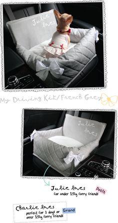 louisdog ★Driving Kit/French Grey